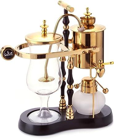 Bélgica belga lujo Royal familia equilibrio sifón cafetera ...