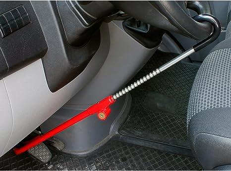 Antifurto per volanti//pedali universale per auto BASI Antifurto per auto SUV con 2 chiavi. camion