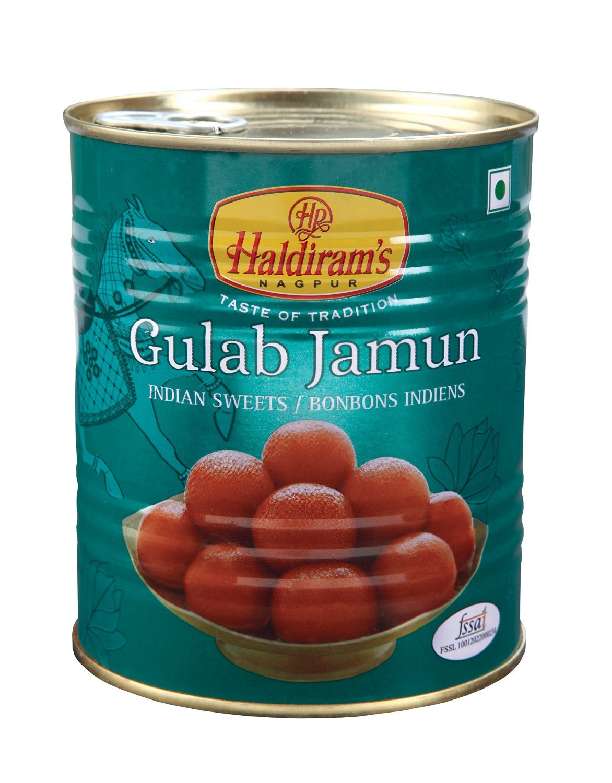 Diwali Sweets - Haldirams Gulab Jamun, 1kg - Styledivahub