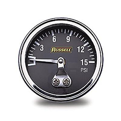 Russell Athletic - RUS-650350 Fuel Pressure Gauge: Automotive