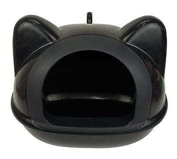 litiere chat noire