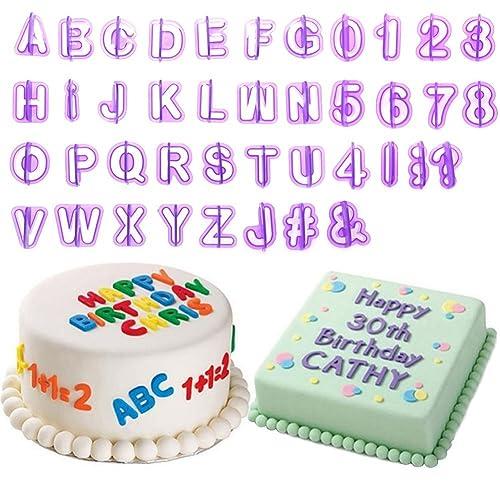 ICING Alphabet letters Edible cake decorations Amazon