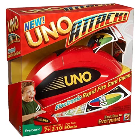 Amazon Uno Attack Card Game Toys Games
