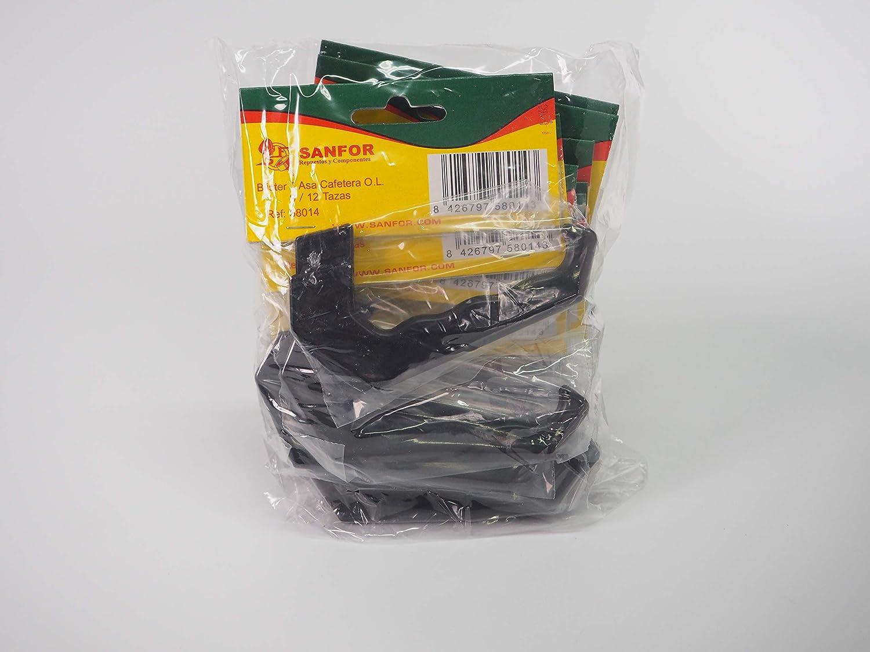 Sanfor 70248 Paquete 10 Blíster Asa Cafetera O.L. 9-12 tazas ...