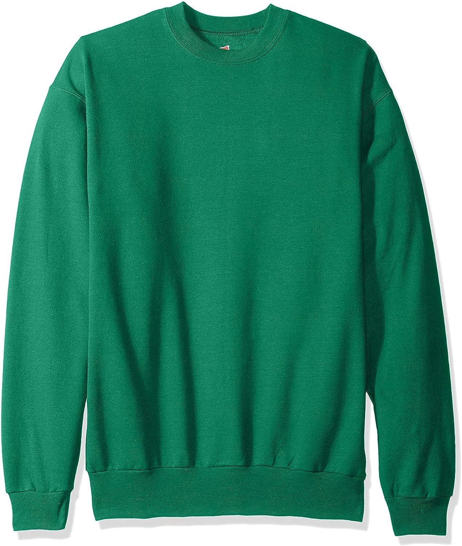 Hanes ComfortBlend EcoSmart Crew Sweatshirt_Kelly Green_5XL