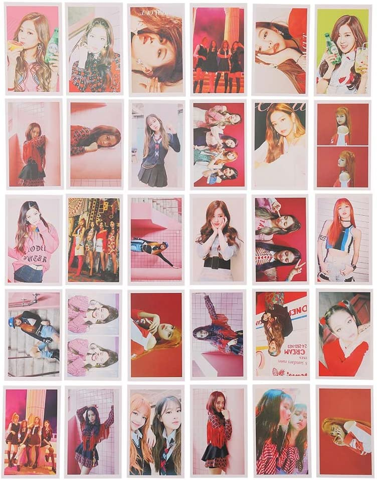As If It/'s Your Last Geschenk f/ür Fans ALTcompluser 30 Stk Blackpink Lomo Photocard Fotokarten Set Lomo Cards//Karten