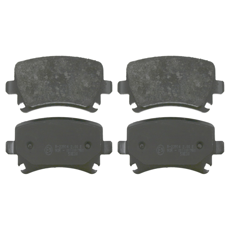 febi bilstein 16830 Brake Pad Set with screws pack of four