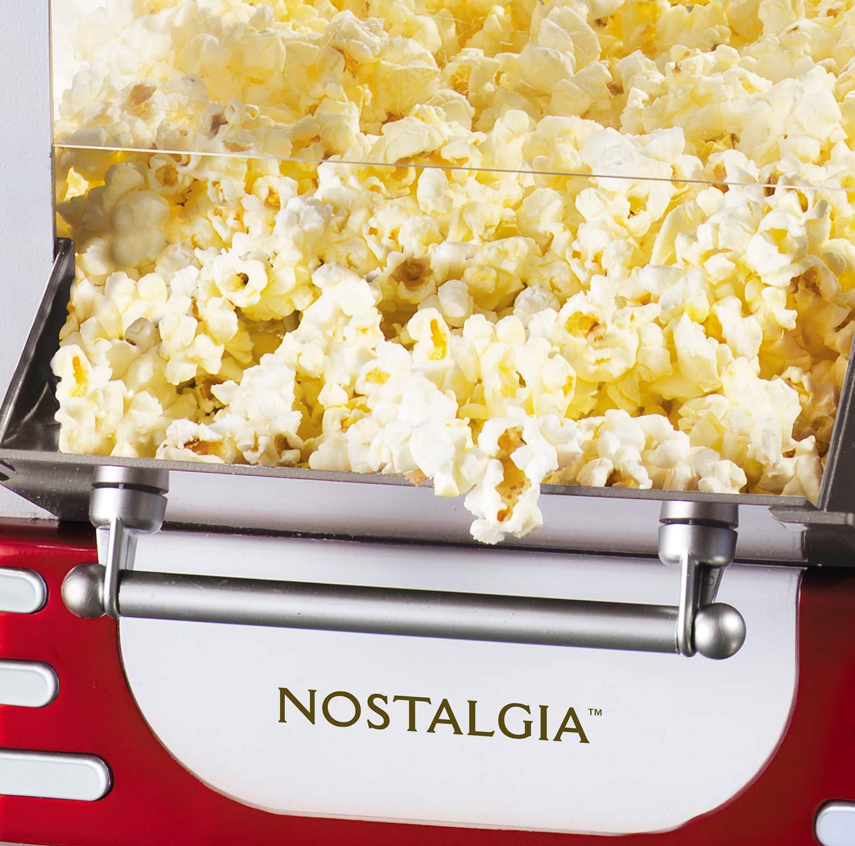 Nostalgia Electrics Retro Kettle Popcorn Maker palomitas de maiz poppers - Palomitero (120 V, 6,35 kg): Amazon.es: Hogar
