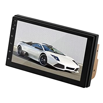 RETYLY 9217 7In Prensa Android 8.1 Monitor Reproductor De Mp5 Estereo De Coche GPS Navi WiFi BT FM Radio//Inversion//GPS//Funcion De Enlace Android Grabadora De Conduccion