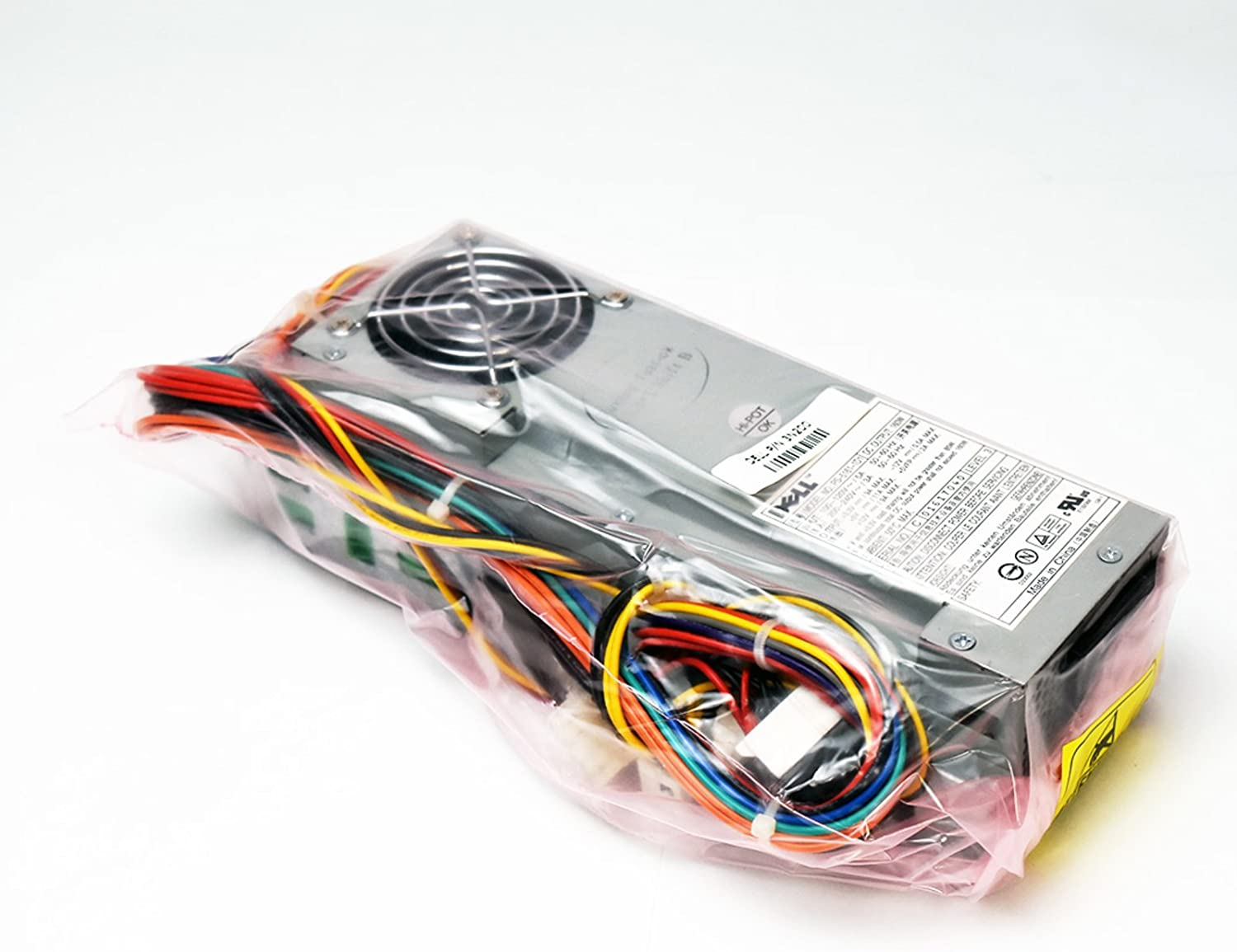 Aquamoon Trading New 3N200 Genuine Dell Optiplex GX150 GX240 GX260 GX270 GX250 Dimension 4500C 4600C SFF 160W PFC Power Supply Unit PS-5161-1D1 Power Factor Correction PSU + Harness P2171 3Y147 P0813