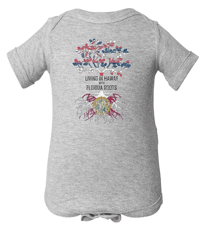 Tenacitee Babys Living in Hawaii Florida Roots Shirt