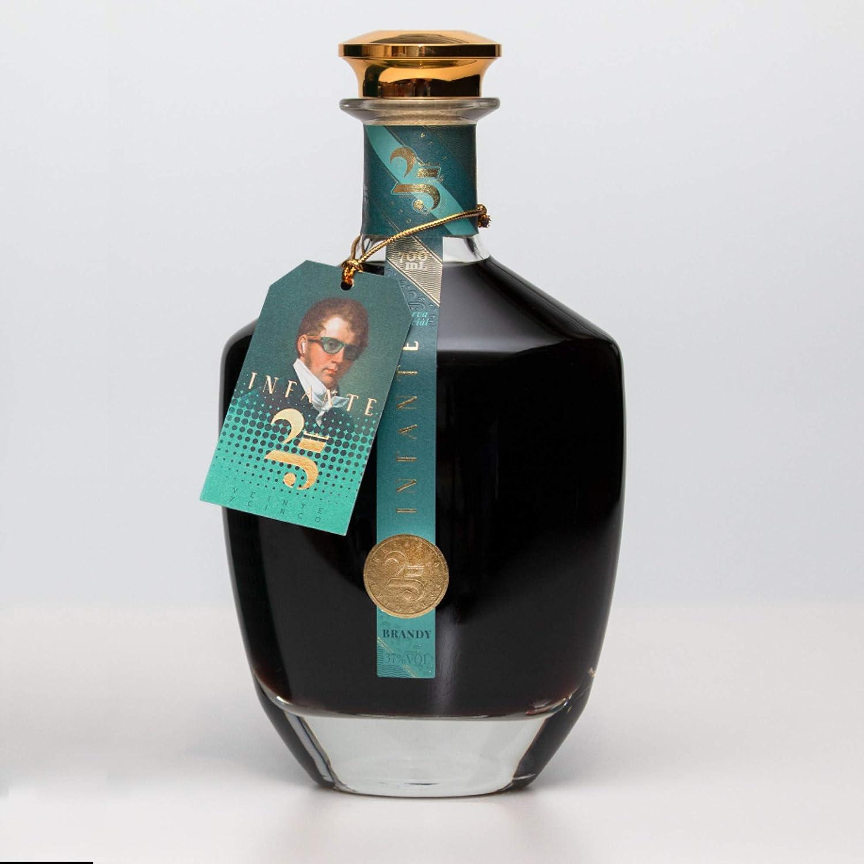 D.INFANTE | Brandy Reserva 25 Años - Botella de 70cl