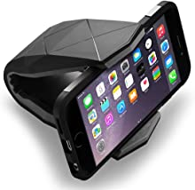 CONMDEX Car Cradle Holder for Universal Smartphone Car Mount Unibody Design the Car Mount for iPhone6/iPhone6 Plus/iPone SE/Samsung Galaxy S7 and Other Smartphones