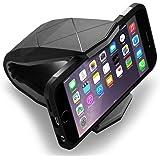 CONMDEX Supporto da auto universale per Smartphone da auto, supporto da auto per iPhone 6/iPhone 6 Plus, iPone, SE, S7, Samsung Galaxy e altri Smartphone