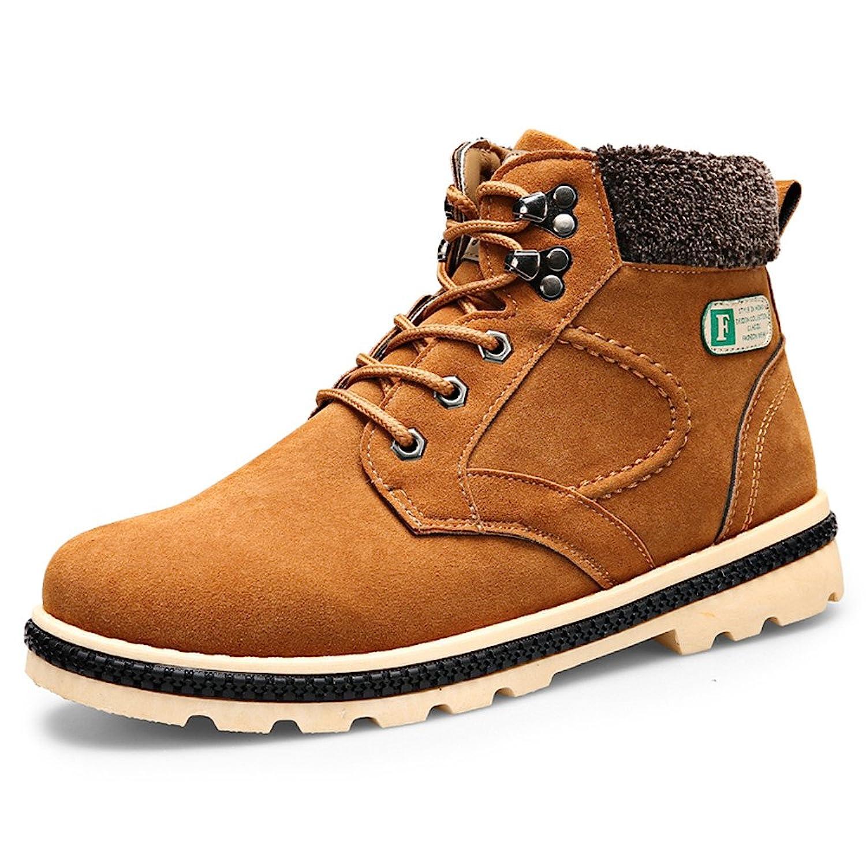 2016 winter new thick add velvet snow boots men Martin boots warm cotton boots