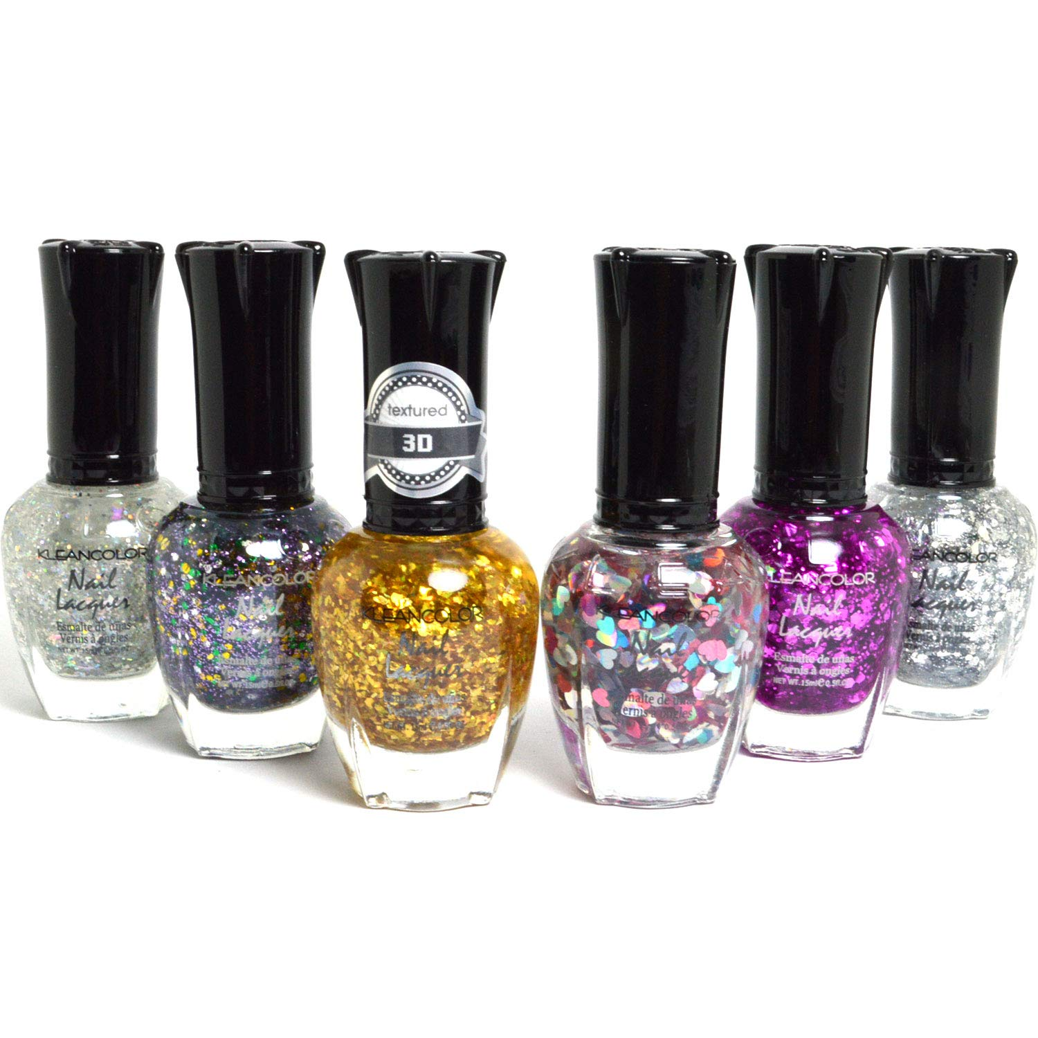 Amazon.com : Color Shooting Star Effect Glitter Nail