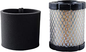 591583 Air Filter For Briggs And Stratton Replaces 5429K, 591383, 796032 Pre-Filter Cleaner