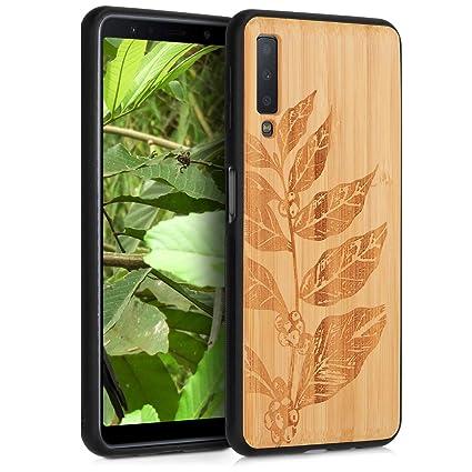 Amazon.com: kwmobile - Carcasa rígida para Samsung Galaxy A7 ...