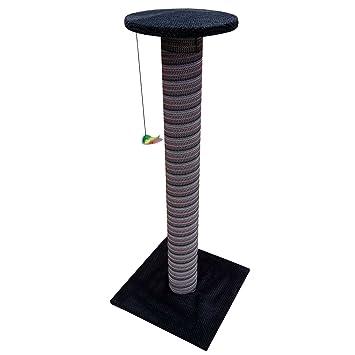 100 cm de altura gigante gato rascador poste árbol juego gato grande escalada centro divertido poste soporte XL: Amazon.es: Productos para mascotas