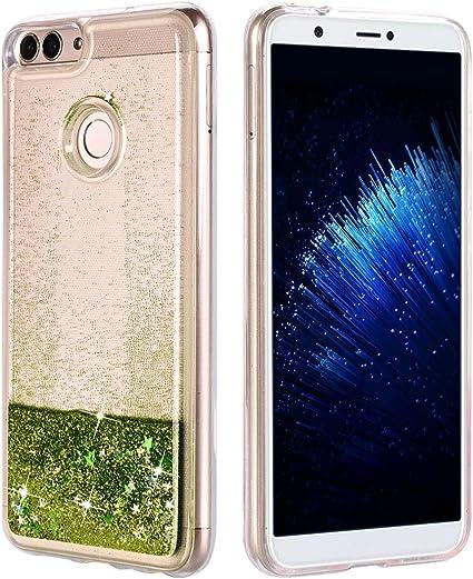Cover Huawei P Smart 2018 Brillantini Liquido, Custodia Glitter ...