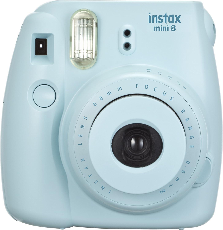 Amazon.com : Fujifilm INSTAX Mini 8 Instant Camera (Blue) : Polaroid Camera