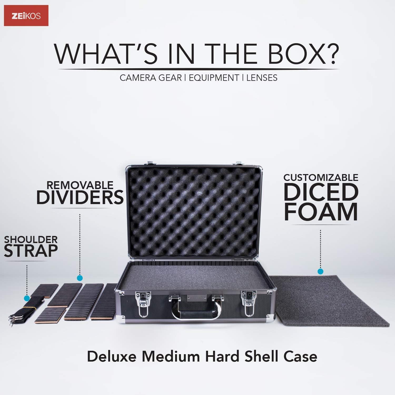 Zeikos ZE-HC52 Large Rolling Hard Case