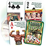 1953 Trivia Playing Cards: 65th Birthday or Anniversary Gift