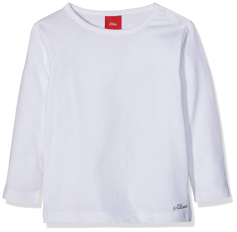 Noppies U Tee LS Hester Text T-Shirt Unisex-Bimbi
