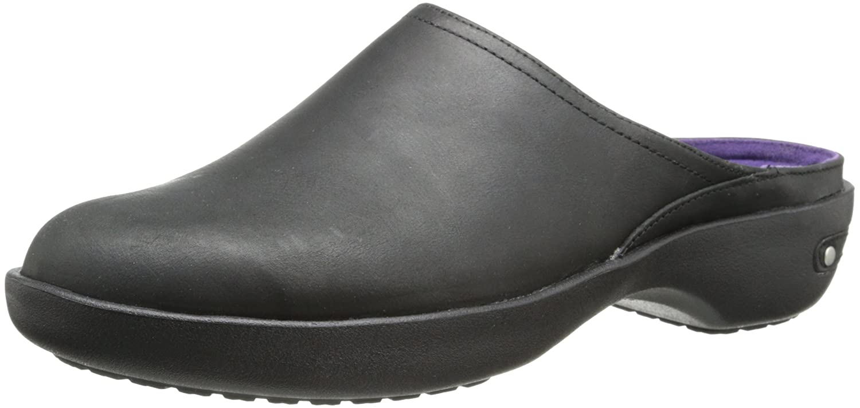 Crocs Cobbler 2.0 de cuero Zueco 36.5 EU|Black/Black