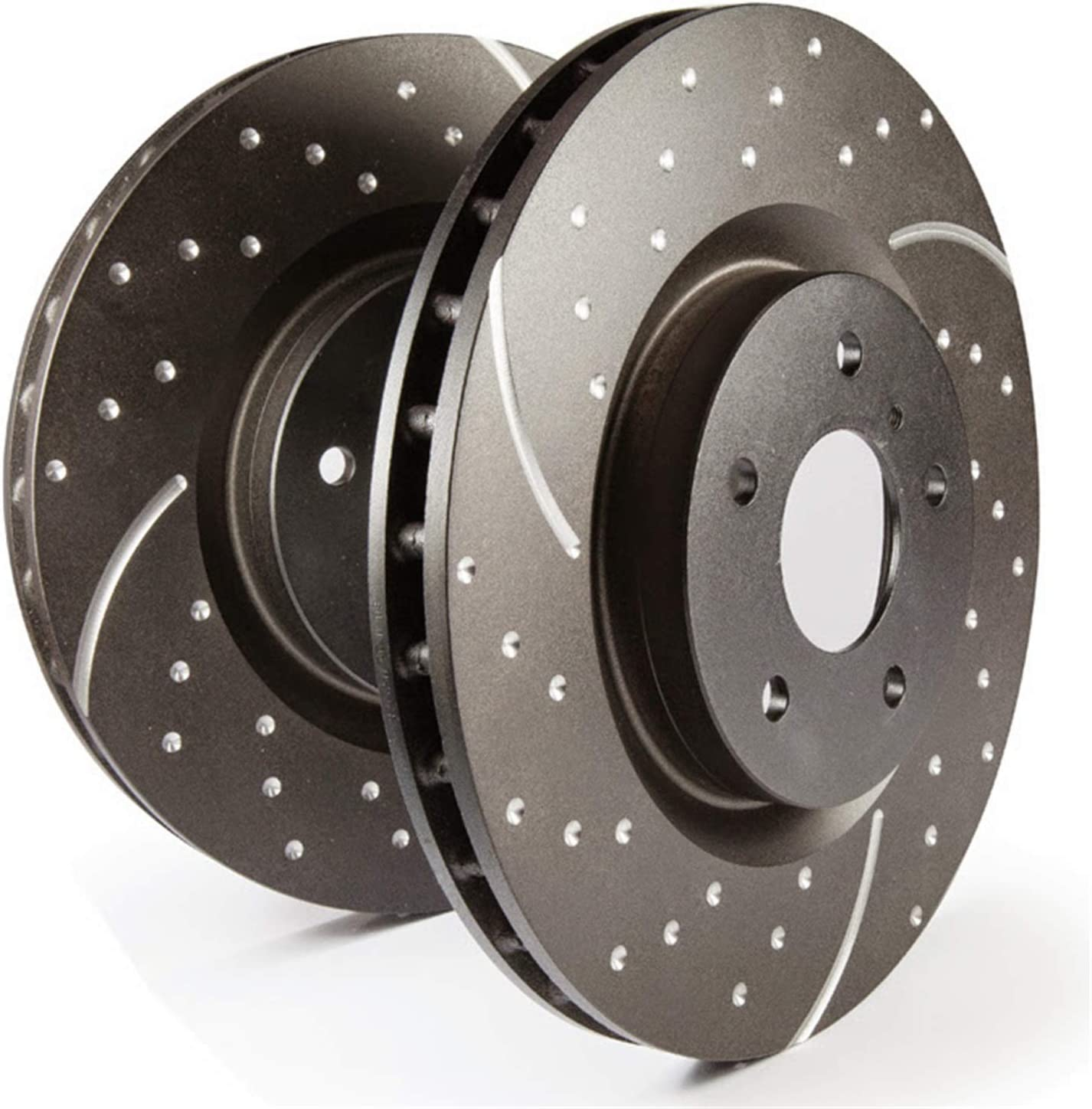 EBC Brakes GD7088 GD Series Slotted and Dimpled Rotors