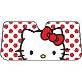 Sanrio Hello Kitty Dots Windshield Sun Shade Accordion Sunshade