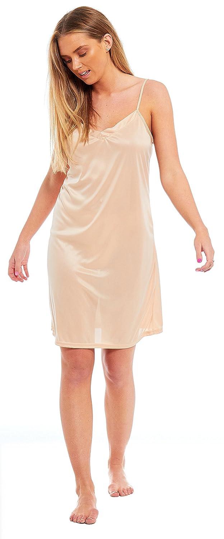 1361cae759b6d Ex Marks   Spencer M S Ladies Full Slip Cami Vest Black Skin White - Size  UK 10 12 14 16 18 20 22-3 Lengths