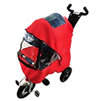 RAIN COVER FOR LITTLE TIGER CHILDREN KIDS TRIKE TRICYCLE - T400 (RED)