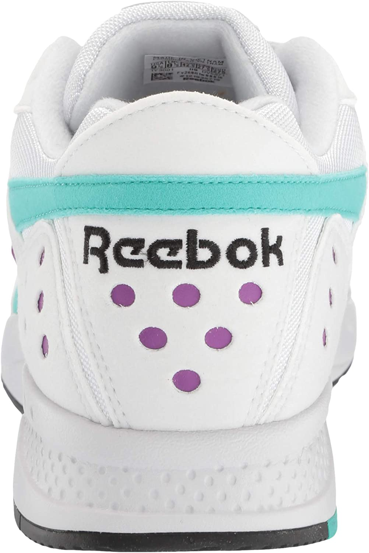 Reebok Pyro, Tennis Mixte Porcelaine Timeless Teal Aubergine Noire