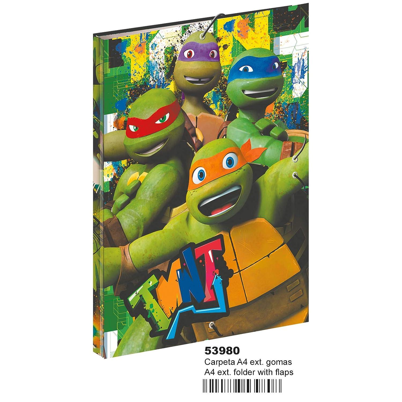 Tortugas Ninja-MC-53980 Carpetas, Multicolor (Montichelvo ...