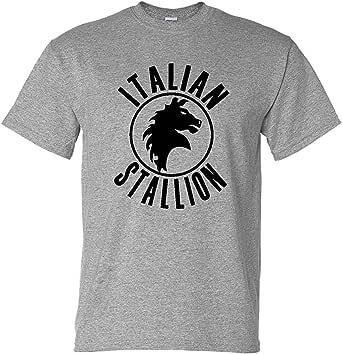 Fools Gold T-shirts Italian Stallion Rock Movie Boxing Gym Training T-Shirt