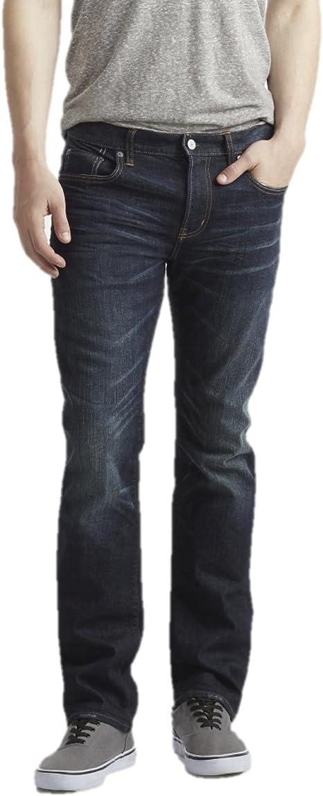 Aeropostale Jeans Para Hombre Estrechos Rectos Color Oscuro Azul 30w X 30l Amazon Com Mx Ropa Zapatos Y Accesorios