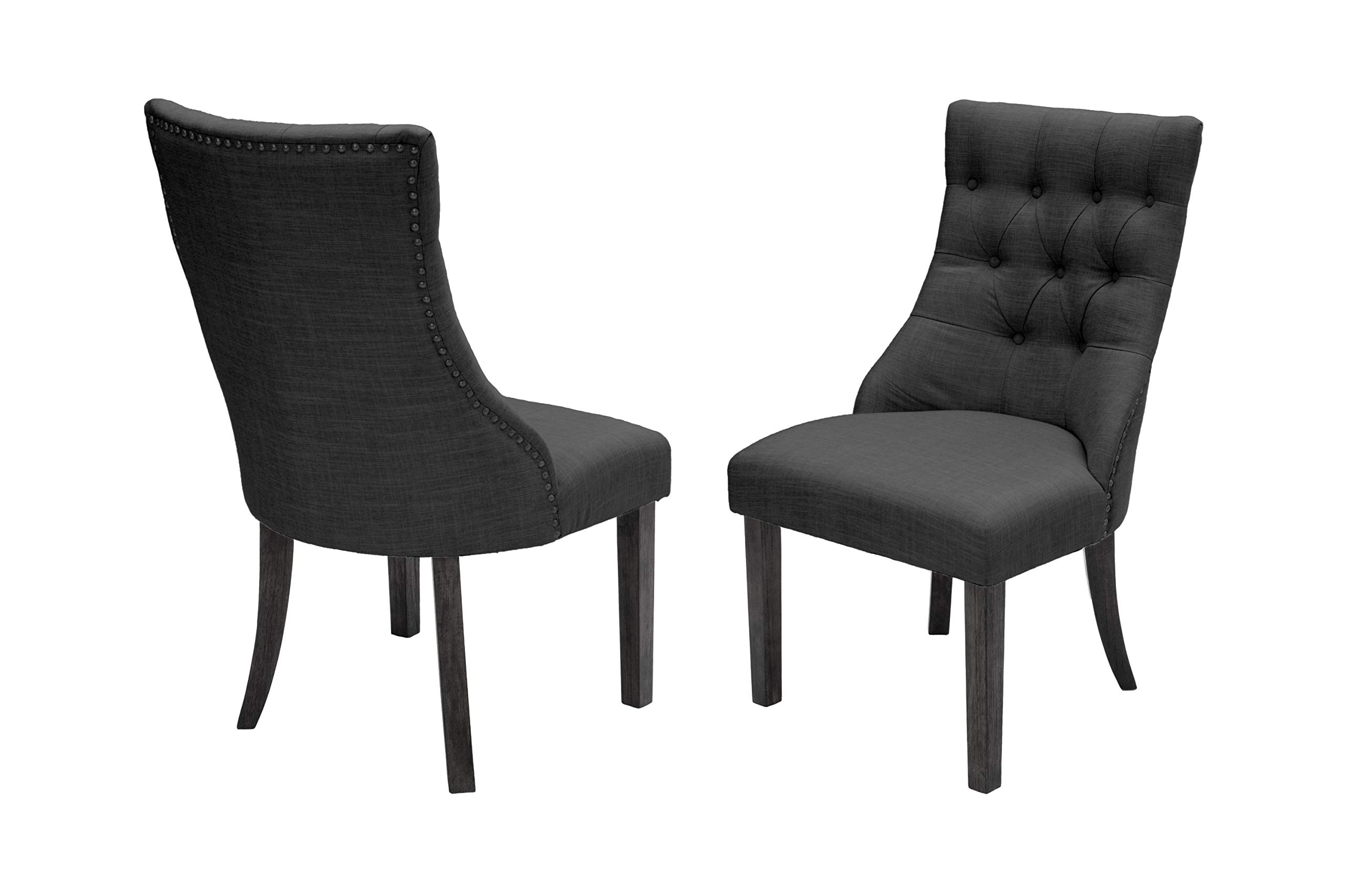 Best Quality Furniture Dining Chair, Black by Best Quality