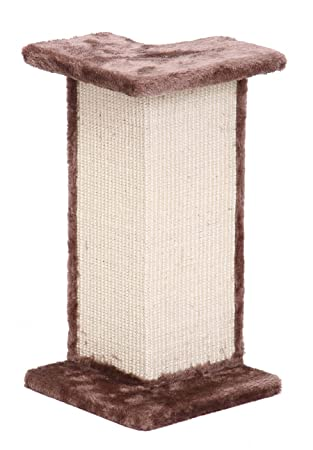 Penn-Plax rascador de sisal Gato Pared Esquina Post y Perca: Amazon.es: Productos para mascotas