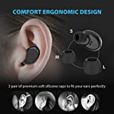 Wireless Earbuds Bluetooth, Paxcess True Wireless