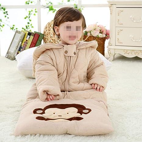 Saco De Dormir para Niños Pijamas Largos De Algodón Confort Bebé. Bata De Algodón De