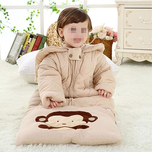Saco De Dormir para Niños Pijamas Largos De Algodón Confort Bebé ...