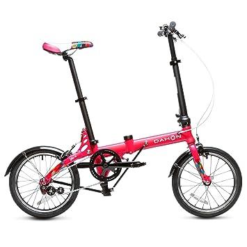 "Dahon Jifo Bicicleta Plegable, Unisex Adulto, Cerise, 16"""