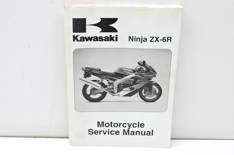 Amazon.com: Kawasaki 99924-1254-04 2000-2005 Ninja ZX-6R ...