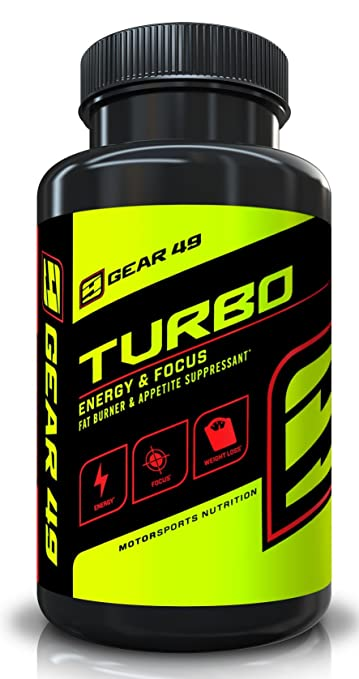 Gear 49 Turbo - Energy & Focus - Increases Energy and Mental Acuity - Burns Fat