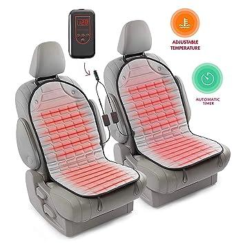 Amazon.com: Zento Deals coche climatizada Funda para asiento ...