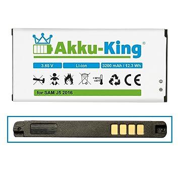 Akku-King Batería para Samsung Galaxy J5 2016: Amazon.es ...
