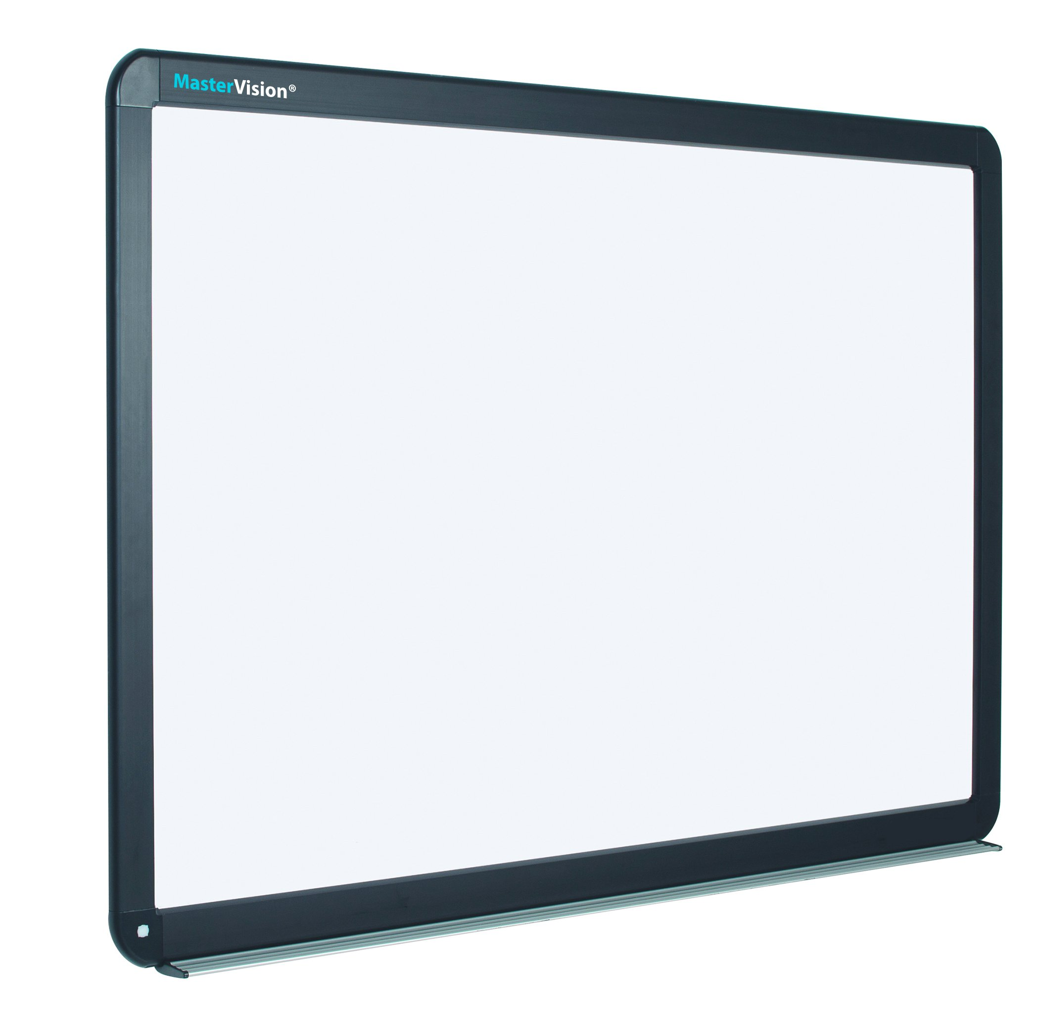MasterVision Interactive Magnetic Dry Erase Board, 78-Inch Diagonal, 70'' x 52'' x 4.2'', Black (BI1291800006)