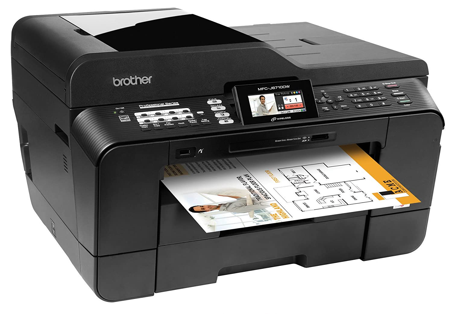 Driver for Brother MFC-J6710DW Printer/Scanner