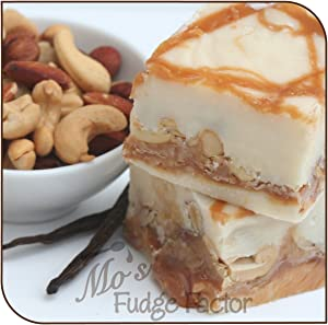 Mos Fudge Factor, Vanilla Caramel Nut Fudge (1/2 Pound)